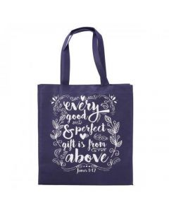 Bolsa Tota Para Compras - Every Good and Perfect Gift, James 1:17