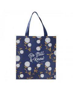 Bolsa Tota Para Compras - Be Still and Know Psalm 46:10