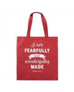 Bolsa Tota Para Compras - Fearfully And Wonderfully Made, Psalm 139:14