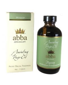 Abba Aceite Hyssop Holy Fire 4 Oz
