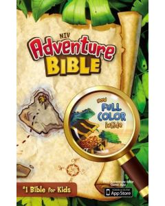 Bible NIV Adventure Hardcover Jacketed
