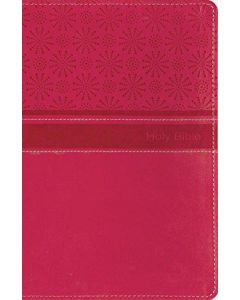 Bible NIRV Gift Hot Pink Imitation Leather
