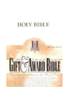 Bible KJV Gift & Award Imitation Leather White