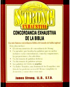Concordancia Strong Exhaustiva Tela James Strong