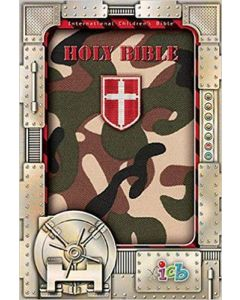 Bible ICB Small Hands Compact Green Camo Cloth