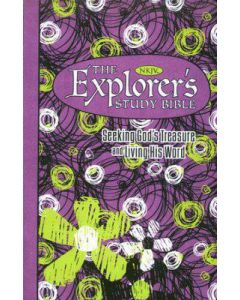 Bible NKJV Explorer's Study Purple Green Personal Size