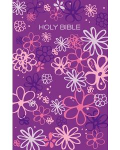 Bible ICB Gift & Award Girls Edition Purple Flowers