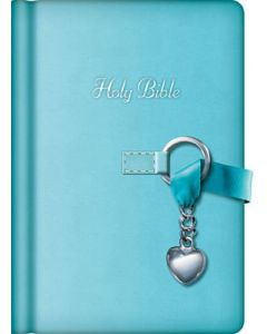 Bible NKJV Simply Charming Imitation Leather Light Blue