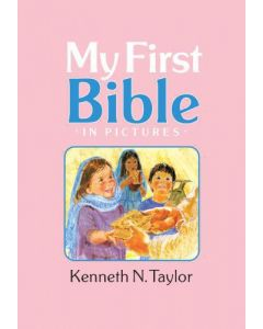 My First Bible In Pictures Hardcover Pink Kenneth N. Taylor