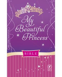 Bible NLT My Beautiful Princess Hardcover Padded