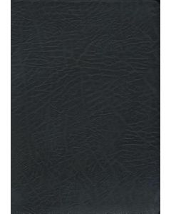 Bible NASB Macarthur Study Bonded Leather Black Large Print Large Size Index